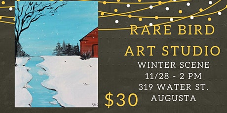 11/28  - Winter Scene Paint night tickets