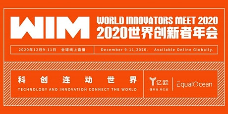 World Innovators Meet (WIM) 2020 biglietti