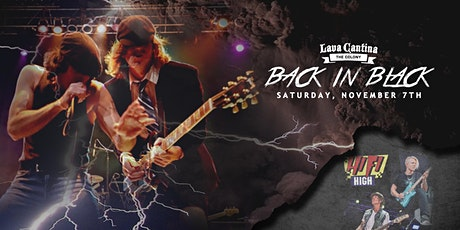 Back In Black - AC/DC Tribute with Hi-Fi High [Limited Seating] tickets