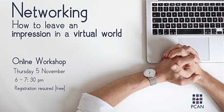 Networking: How to leave an impression in a virtual world tickets