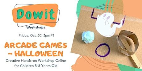 Creative Hands-on Workshop - Arcade Games (Halloween) - 5-8 years old tickets