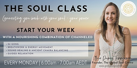 THE SOUL CLASS by the GLOBAL SOUL CENTRE tickets
