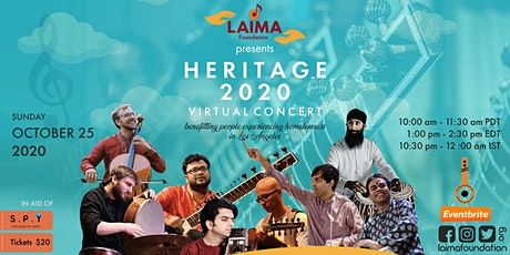 PLEASE READ DESCRIPTION FOR NEW TICKET INFO: HERITAGE 2020 Virtual Concert tickets