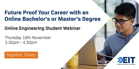Online Engineering Student Webinar - November 2020 tickets