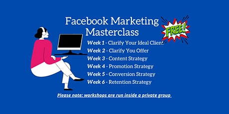 Live Facebook Marketing Masterclass tickets