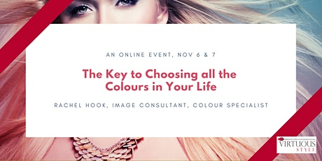 The Key to Choosing all the Colours in Your Life tickets