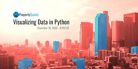 [PQ REDS Series] Visualizing Data in Python tickets