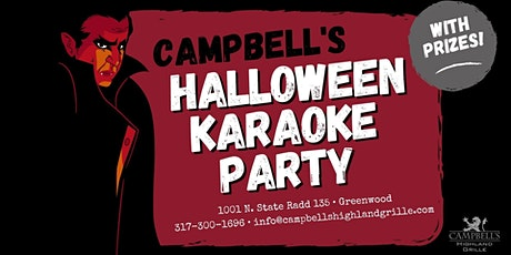 Campbell's Halloween Karaoke Party tickets