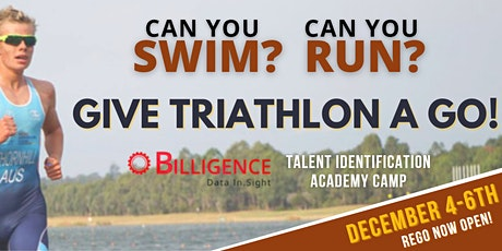 Billigence Triathlon Talent ID Academy Camp tickets