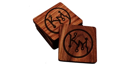 Make and Take: Personalized Hardwood Coasters tickets