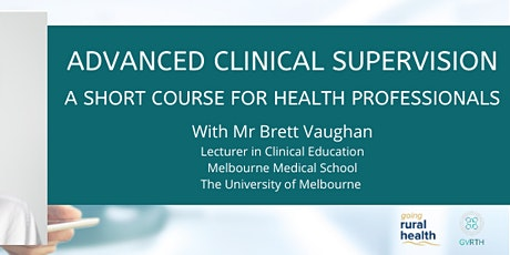 Advanced Clinical Supervision Course tickets