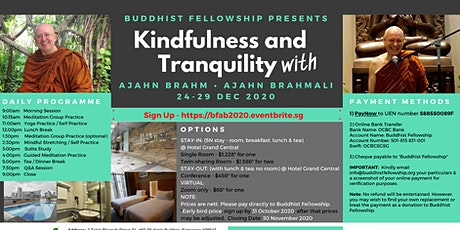 Kindfulness and Tranquility with Ajahn Brahm and Ajahn Brahmali