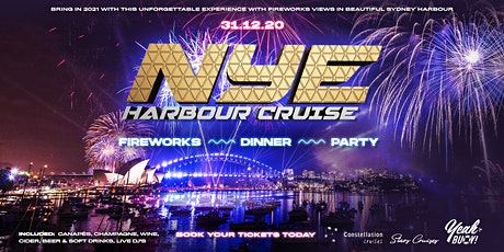 New Years Eve Party VIP Fireworks - Boat Dinner and Entertainment tickets
