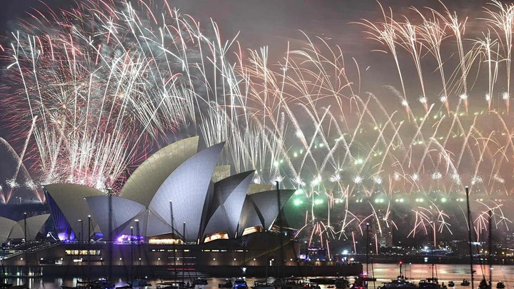 New Years Eve Party VIP Fireworks Cruise- Boat Dinner and Entertainment image