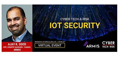 Cyber Tech & Risk - IoT Security tickets