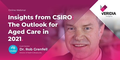 Insights from CSIRO: the Outlook for Aged Care in 2021 tickets