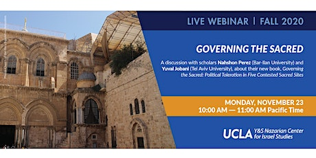 Governing the Sacred: Political Toleration in Five Contested Sacred Sites Tickets