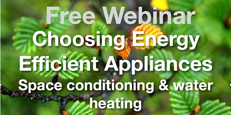 Choosing Energy Efficient Appliances tickets