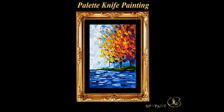 Palette Knife Painting Workshop : Bright Autumn Trees (Sunday) tickets