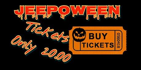 BlackTop Warriors Jeepoween, Halloween Bash tickets