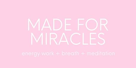 breathe. let go. create: energy work + meditation + deep conscious breath tickets