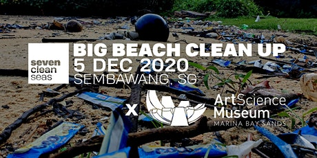 SCS x ArtScience Museum - Big Beach Clean Up (SOCIALLY DISTANCED) - Part 1 tickets