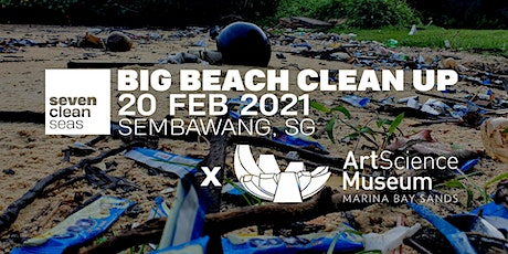 SCS x ArtScience Museum - Big Beach Clean Up (SOCIALLY DISTANCED) - Part 2 tickets