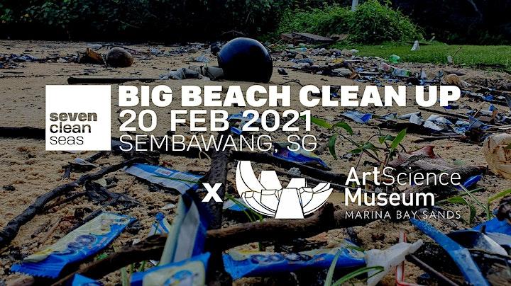 SCS x ArtScience Museum - Big Beach Clean Up (SOCIALLY DISTANCED) - Part 2 image