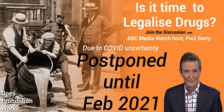 Is it Time to Legalise Drugs?  Forum - with ABC Media Watch Host Paul Barry tickets
