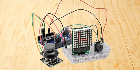 Build your own Arduino-based Snake Game! For Seniors, Adults + Kids. tickets