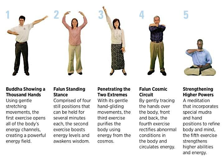 Dafa Meditation - Wellness Workshop (booking is essential) image