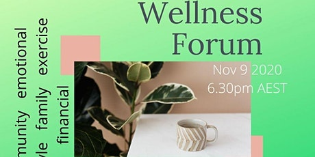 Wellness Forum tickets