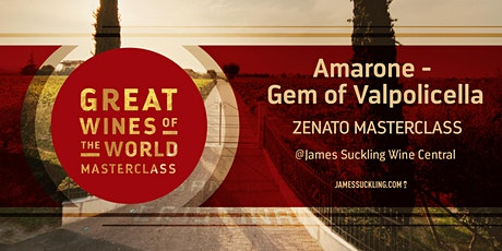 Great Wines of the World Masterclass: Amarone - Gem of Valpolicella tickets