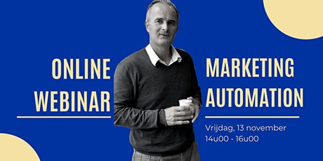Webinar I Marketing Automation tickets