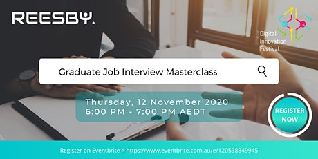 Student/ Graduate Job Interview Masterclass tickets