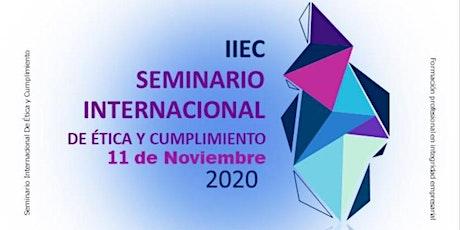 SEMINARIO INTERNACIONAL DE ÉTICA Y CUMPLIMIENTO 2020 boletos