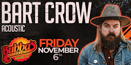 Bart Crow tickets