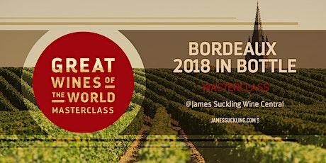 Great Wines of the World Masterclass: Bordeaux 2018 En Bouteille tickets