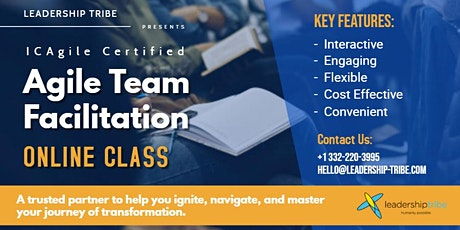 Agile Team Facilitation (ICP-ATF)   Virtual - Part Time tickets