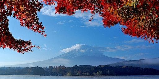Virtual Autumnal Japan Walk at Lake Kawaguchi