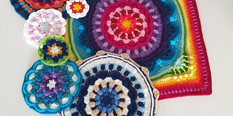Mandala Crochet Cushion Covers tickets