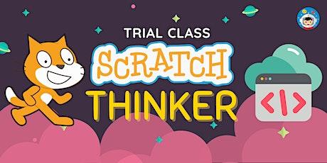 Trial Saturdays (Online Scratch Coding Class, Ages 7-12)
