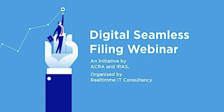 Digital Seamless Filing Webinar tickets