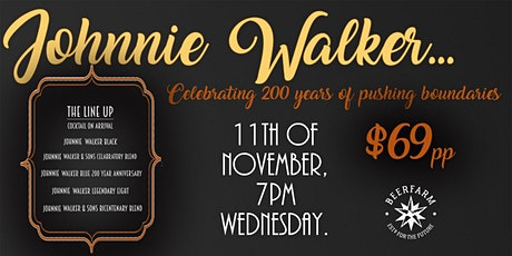 Johnnie Walker. Celebrating 200 Years of pushing Boundaries tickets