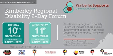 Kimberley Regional Disability Forum tickets