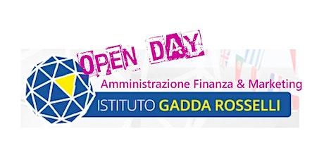 OPENDAY GADDAROSSELLI 2020-21 AMMINISTRAZIONE FINANZA &MARKETING biglietti