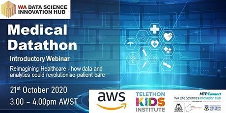 WA Medical Datathon Introductory Webinar entradas