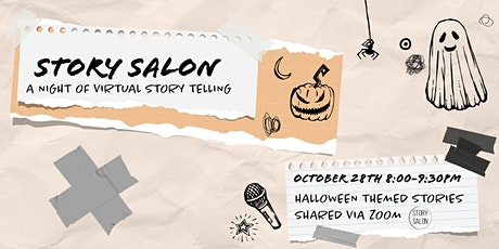 Story Salon: Halloween Stories tickets