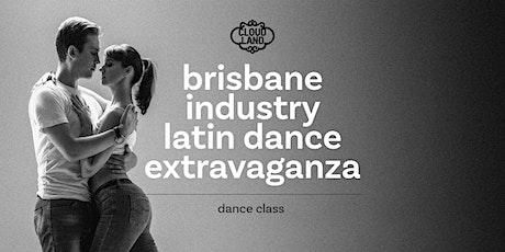 Brisbane Industry Latin Dance Extravaganza - 1st November Lessons tickets