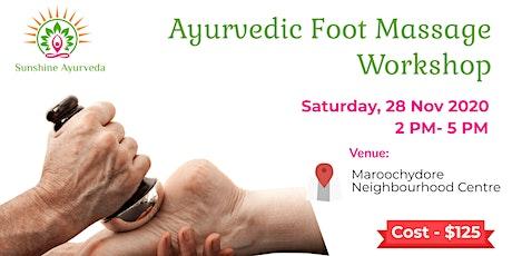 Ayurvedic Foot Massage Workshop tickets
